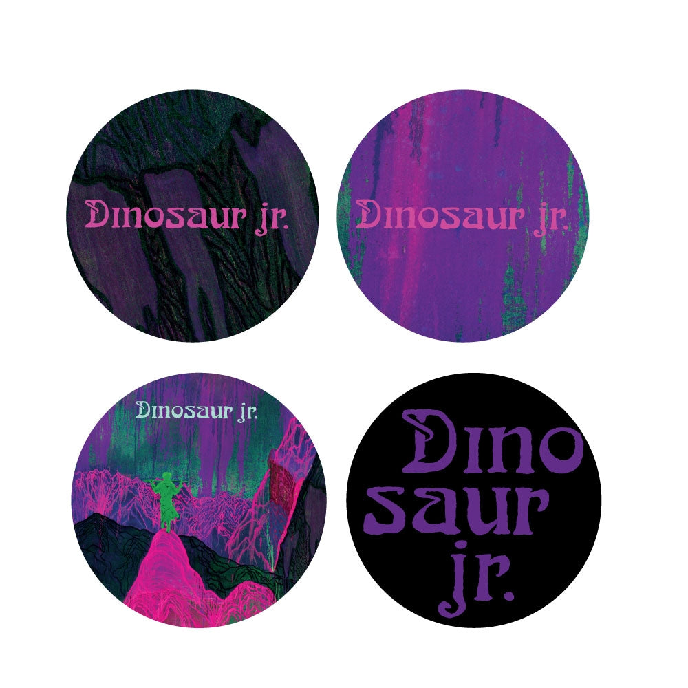 Dino Jr. Give a Glimpse Button Pack