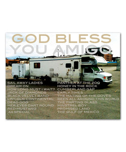 God Bless You, Amigo Digital Download