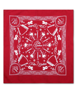 The Felice Brothers Red Instrument Bandana