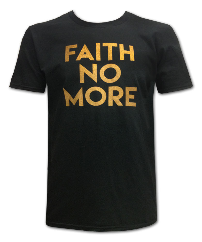 Gold Text Tee