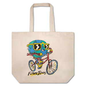 Future Islands Globeman Tote