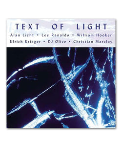 Lee Ranaldo Text of Light CD