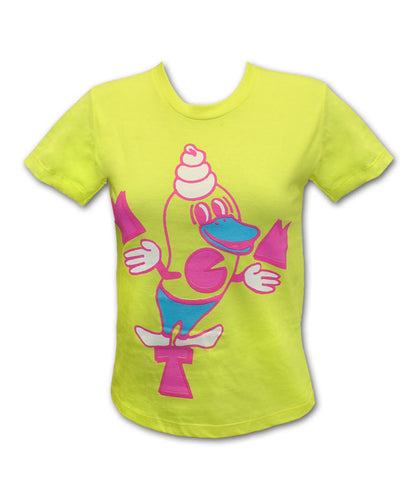 Girl's Yellow Soft Serve T-shirt