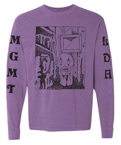 Little Dark Age [VIOLET] L-S T-shirt