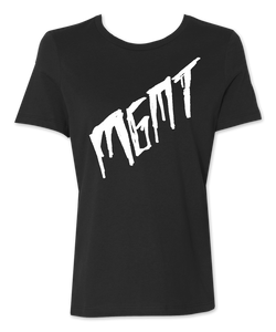 Girl's Black Scratch T-shirt
