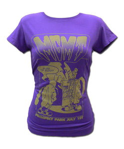Girl's Purple Buzz T-shirt