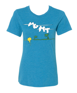 Girl's Clouds T-shirt