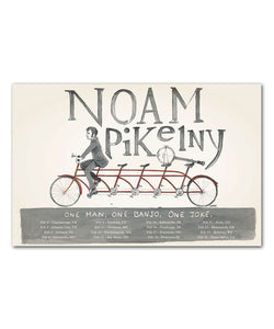 Noam Pikelny February '16 Tour Poster
