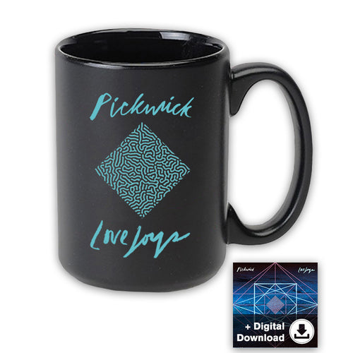 React Diamond Mug + Digital Download
