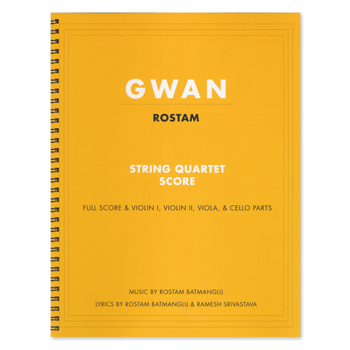 Gwan Score Book DIGITAL