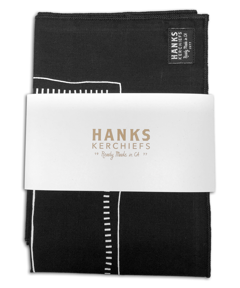 Black Hanks Kerchiefs