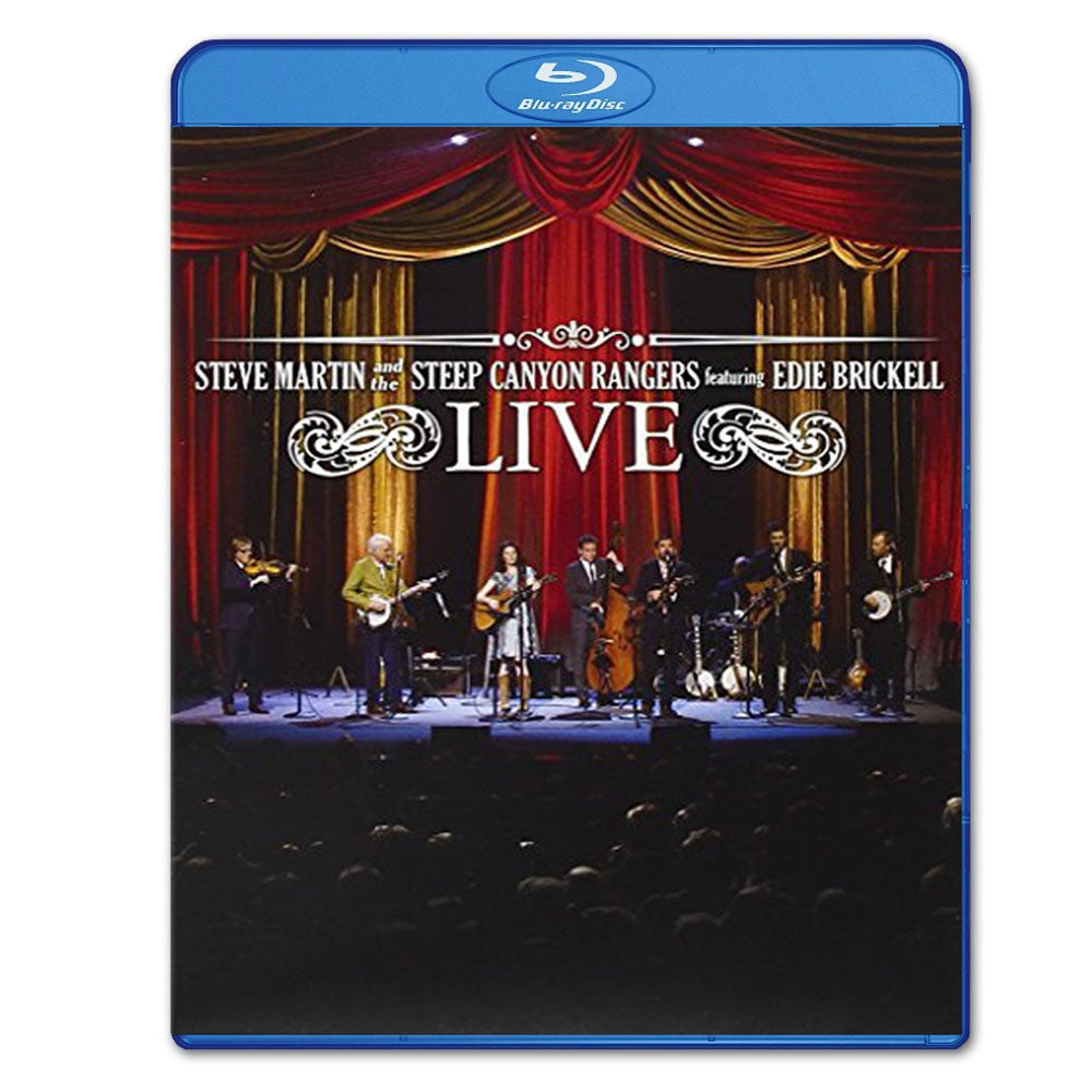 Steep Canyon Rangers Live ft. Edie Brickell Blu-Ray