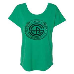 Women's Black Circle Logo T-shirt