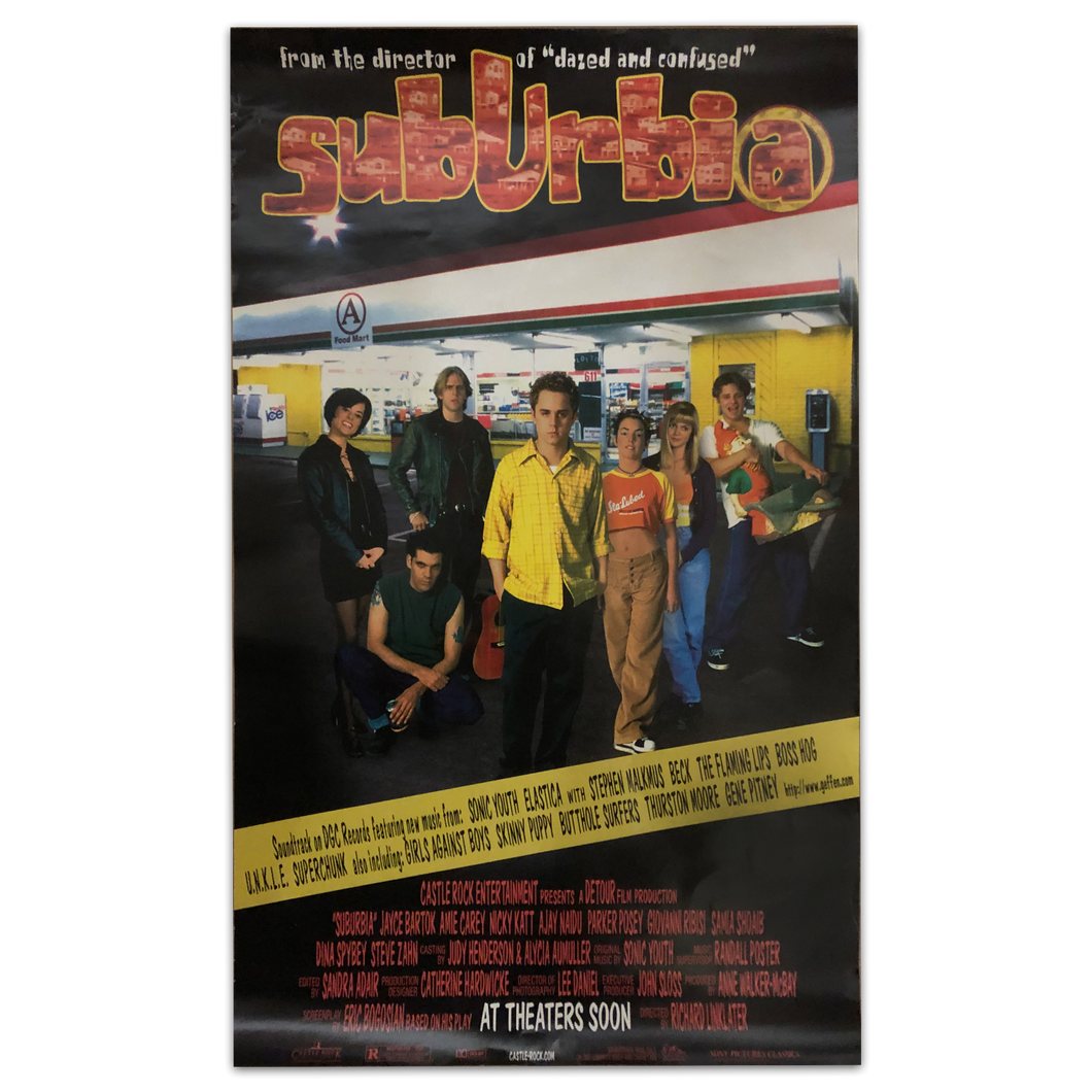 Suburbia Movie [1996, SMALL] Poster