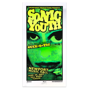 Newport Music Hall [7-20-03, Colombus, OH] Poster