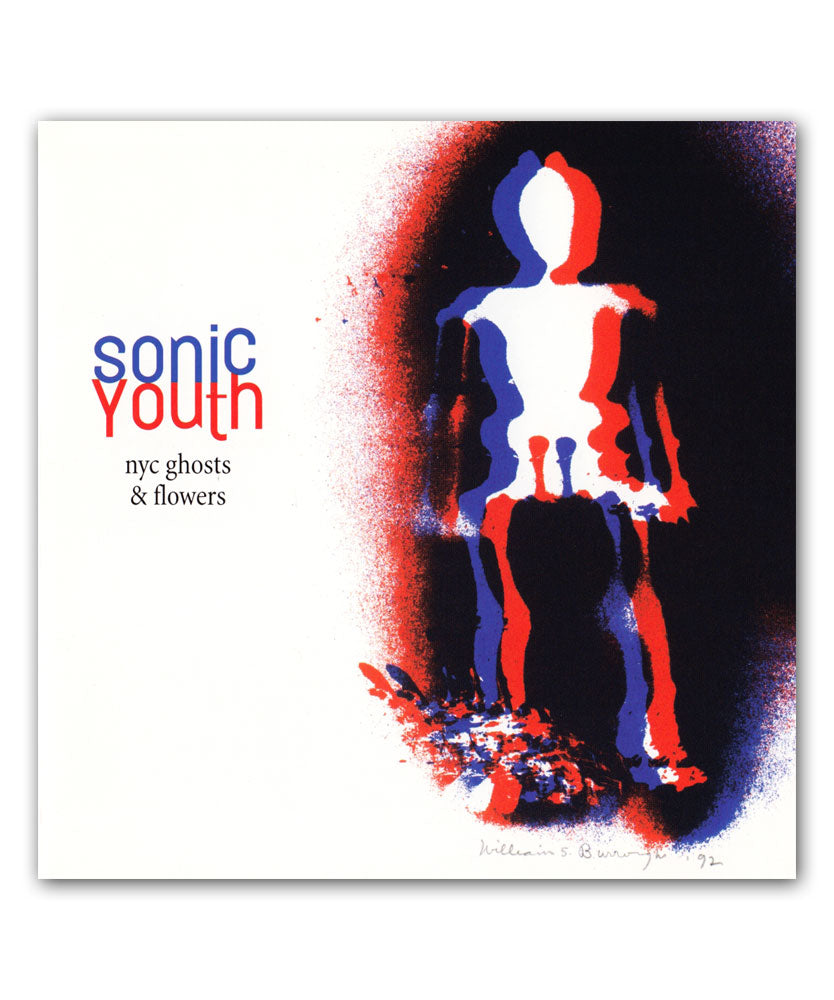 Sonic Youth NYC Ghosts & Flowers CD
