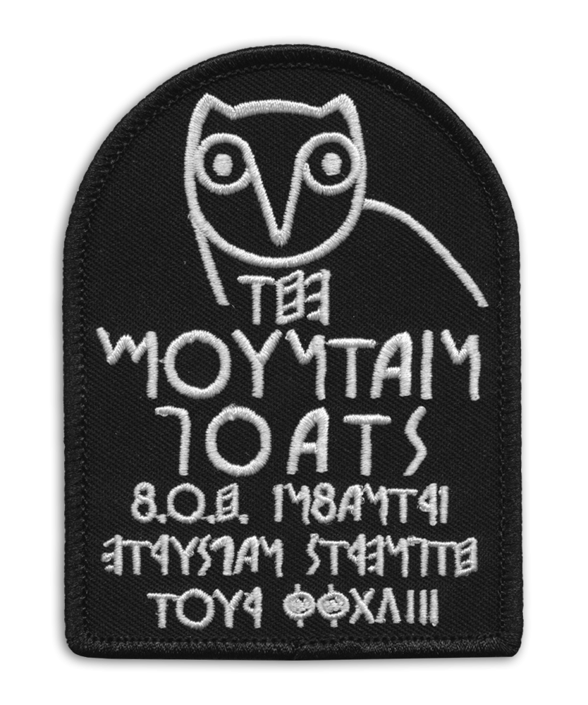 Owl [BLACK] Patch