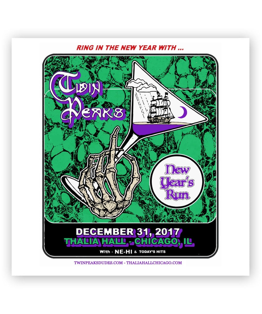 2017 Chicago Night 3 at Thalia Hall Poster [12-31-17 Chicago, IL]
