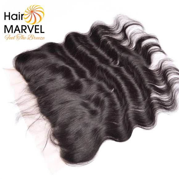 Hair Marvel Lima 13x4 Premium Brazilian Remy Body Wave Lace Frontal Closure Bundle