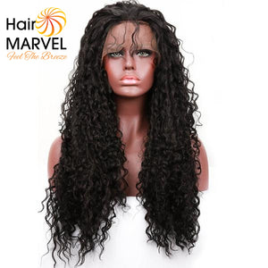 Hair Marvel Grace Afro Kinky Curly Lace Front Wig With Baby Hair