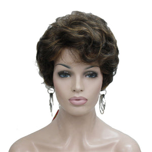 Hair Marvel Colette Natural Deep Wave Short Hair Full Wig 6 Colours