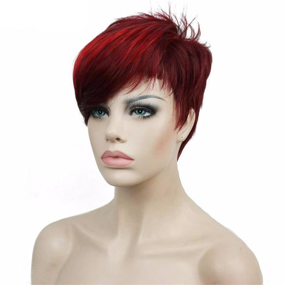 Hair Marvel Aubrey Feathered Short Pixie Women/Men Wig 2 Colours