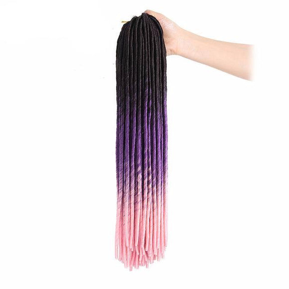 Hair Marvel Lauryn CROCHET FAUX LOCS Multi Colour Dreadlocks Braid Extensions 7 Colours