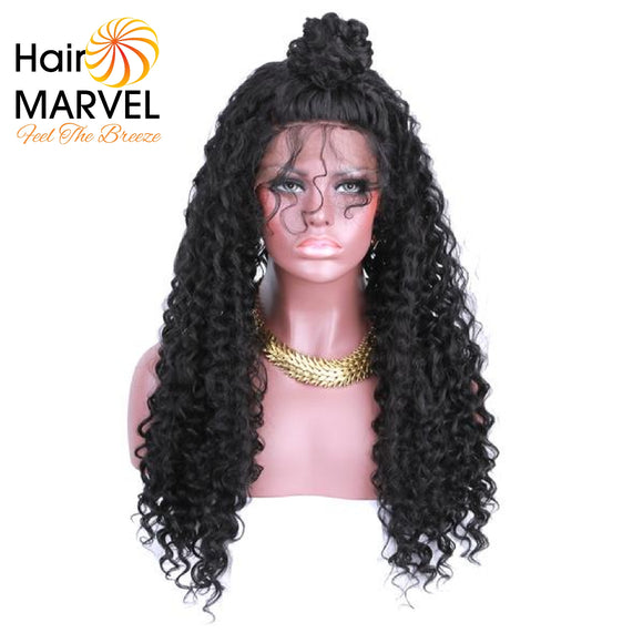 Hair Marvel Valentina Lace Front Soft Curly With Baby Hair Wig