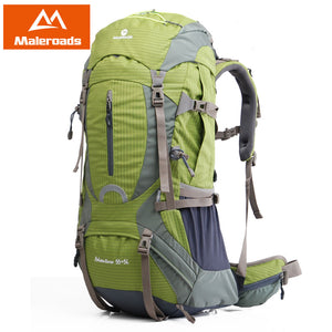 Foraker Rocks Collection MaleroadsR High Quality Professional Mountaineering Climb Backpack 50L 60L