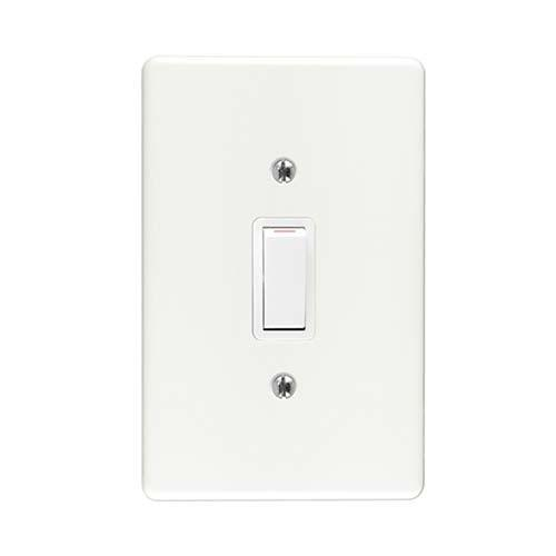 1Lever 1Way Switch + Cover 2x4 Crabtree