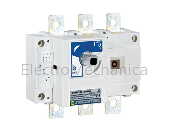 26AC3031 315A 160KW 3pole Load Break Switch Sirco AC Series