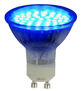 4W LED GU10 Colour Lamps