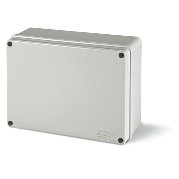686.207 IP56 190x140x70mm PVC Housing Opaque Lid Junction Box