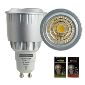 9W LED GU10 Dimmable Downlighter Lamp
