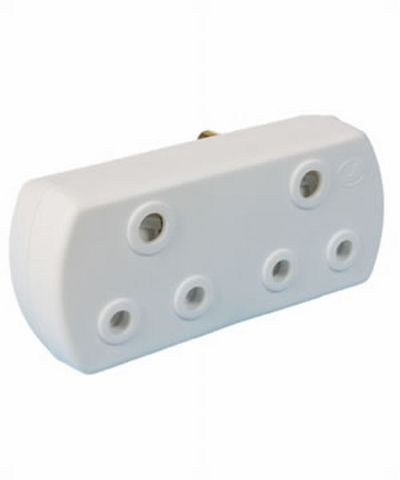 Double Adaptor Plug 2X16A 3Pin