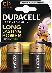 Duracell MN1400 Size C 2pack