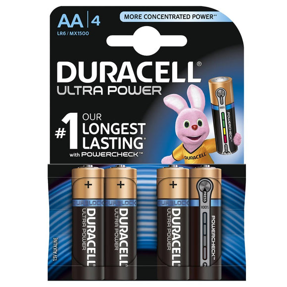 Duracell MN1500 AA Ultra 4pack
