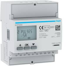 ECP300C 6000A Three Phase KWH Meter - CT Operated