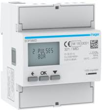 ECP380D 80A Three Phase KWH Meter - Direct Reading
