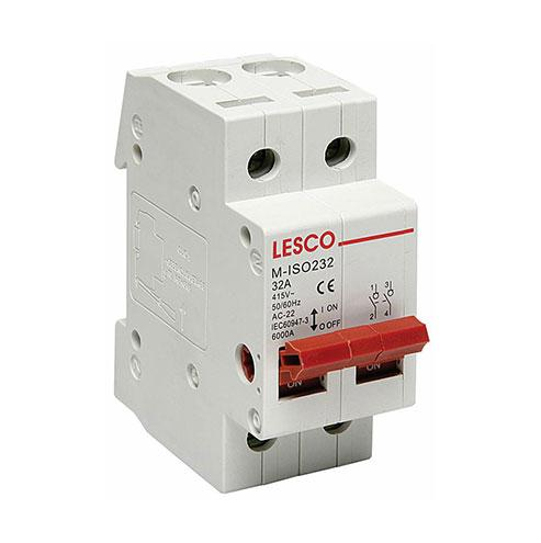 32A DP Din Isolator Lesco