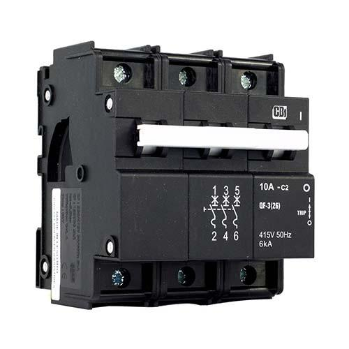 QF-3(26MM)40A T/P 6KA Circuit Breaker