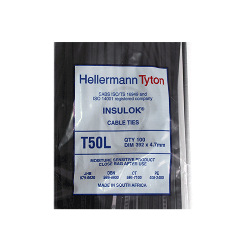 T50L Cable Ties 100/PKT