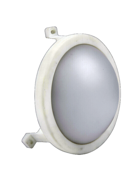 12W LED Bulkhead Round White