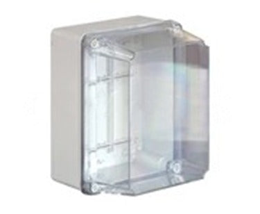 686.230* IP56 380x300x120mm PVC Housing Transparent Lid Junction Box