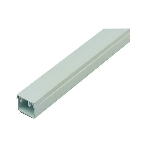 Trunking Solid 16X16MM White Per 2Mtr Length