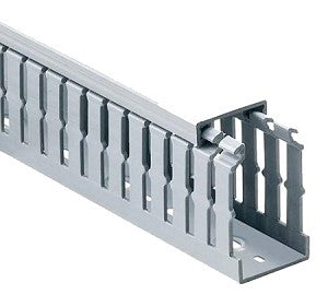 Trunking slotted 100X80MM Narrow slot