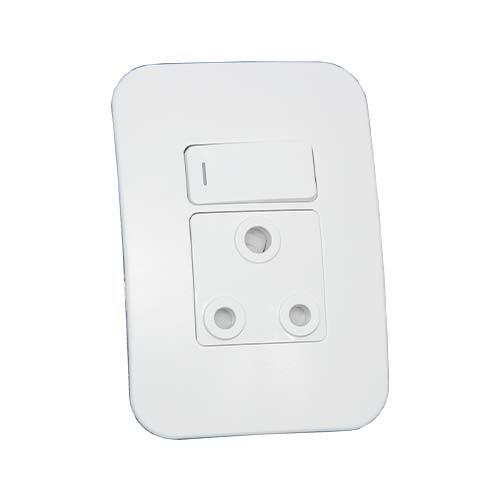 VG20WTC Single Socket Complete 4x4 White