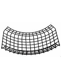 Wire Mesh Cable Tray 500X50MM Internal/External Bend, Radius 160
