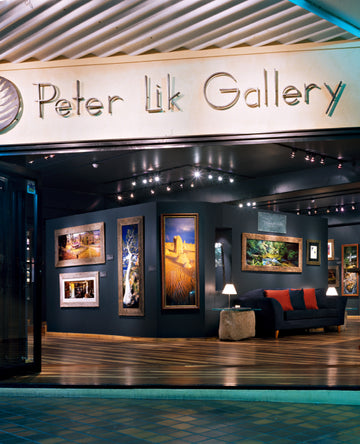 Storefront of Peter's first gallery in Cairns, Australia.