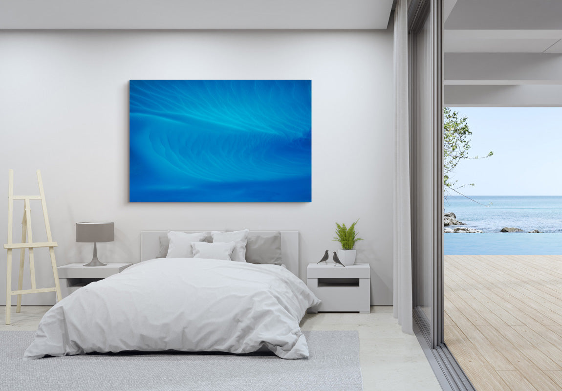 Crystal Blue in Home